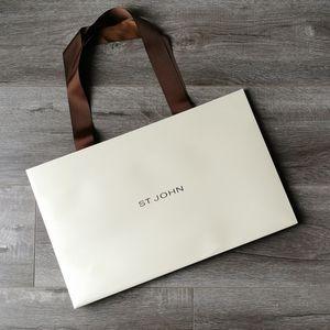 St. John Paper Shopping Bag